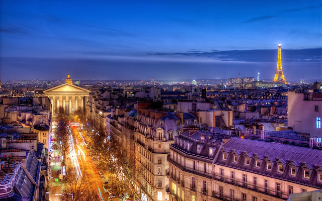 Paris, From Le Printemps Rooftop