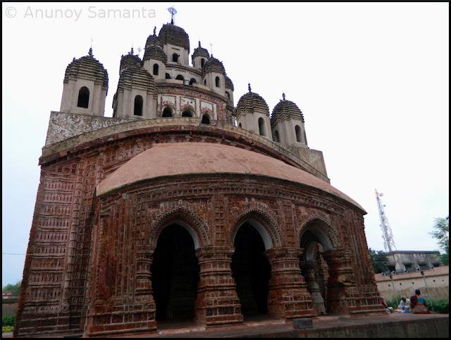 Terracotta temples of Kalna - Krishna Chandraji Temple