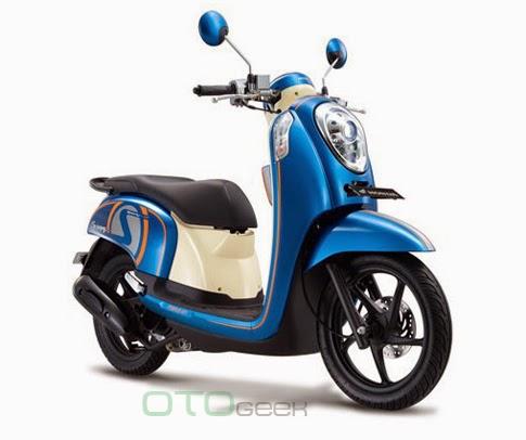 Scoopy Fi Sporty Biru