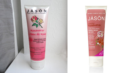 Jason's, hand & body lotion, rosewater hands & body lotion
