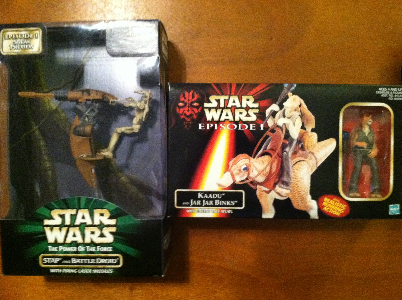 The Phantom Menace Toys : Tim s vintage toys and collectibles star wars episode i