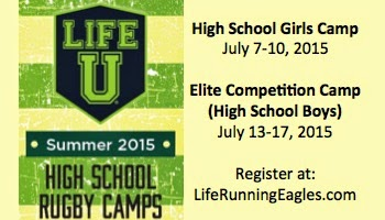 Sponsor: Life Rugby Camps
