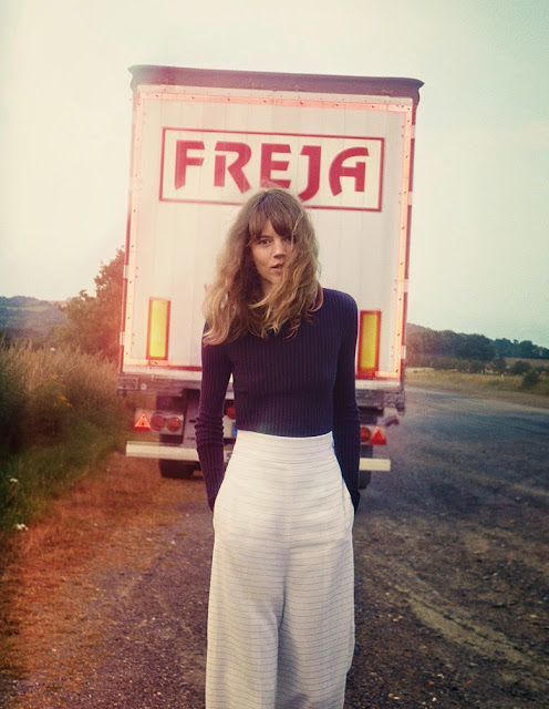 Freja Beha Erichsen by Cass Bird for Vogue Uk January 2014 Editorial