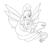 #12 Stella Coloring Page