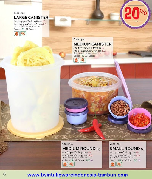 Promo Diskon Tulipware | Nopember - Desember 2015, , Oval Lunch Set, Double SHJ, Single Lunch Box