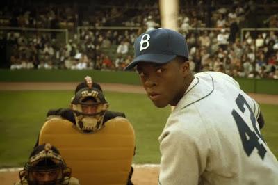 """Chadwick Boseman as Jackie Robinson """"42"""""""