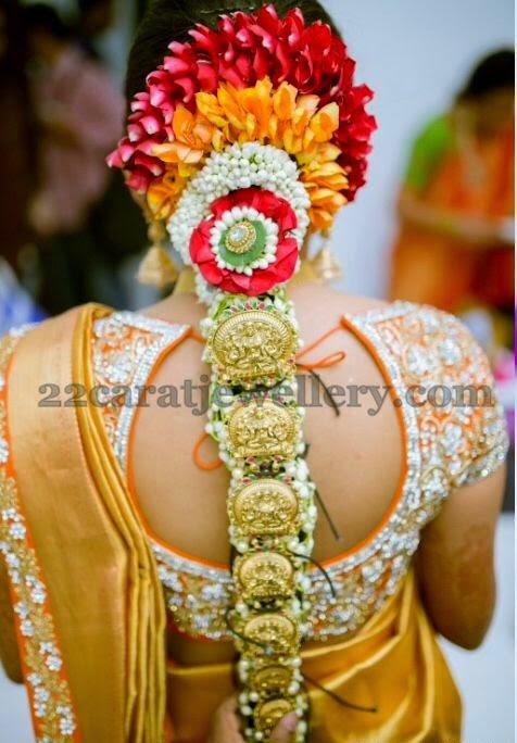 Adorable Lakshmi Jada or Choti