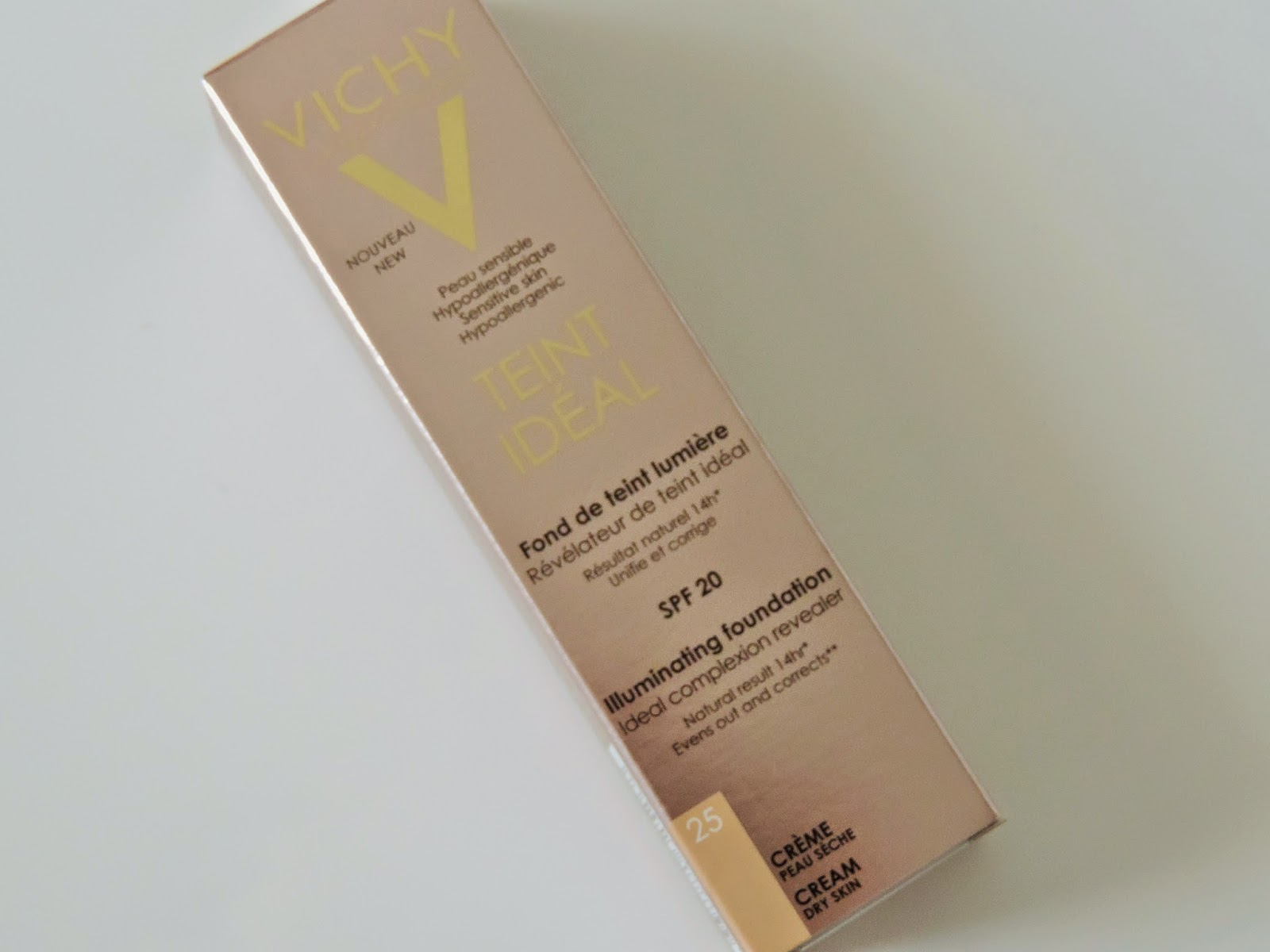Vichy Teint Ideal Cream Foundation