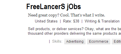 Freelancing is a part time job for making handsome revenue