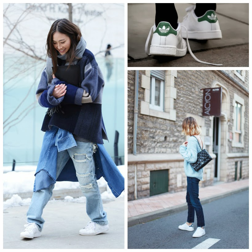 Adidas Stan Smith sneakers street style