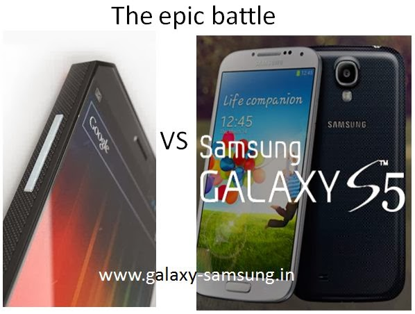 nexus 6 vs galaxy s5