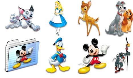 Free wallpaper walt disney icons