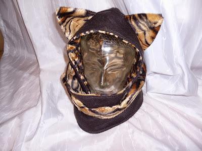 Kapuzenschal (mit Ohren) nähen - Hobbyschneiderin 24 - Forum