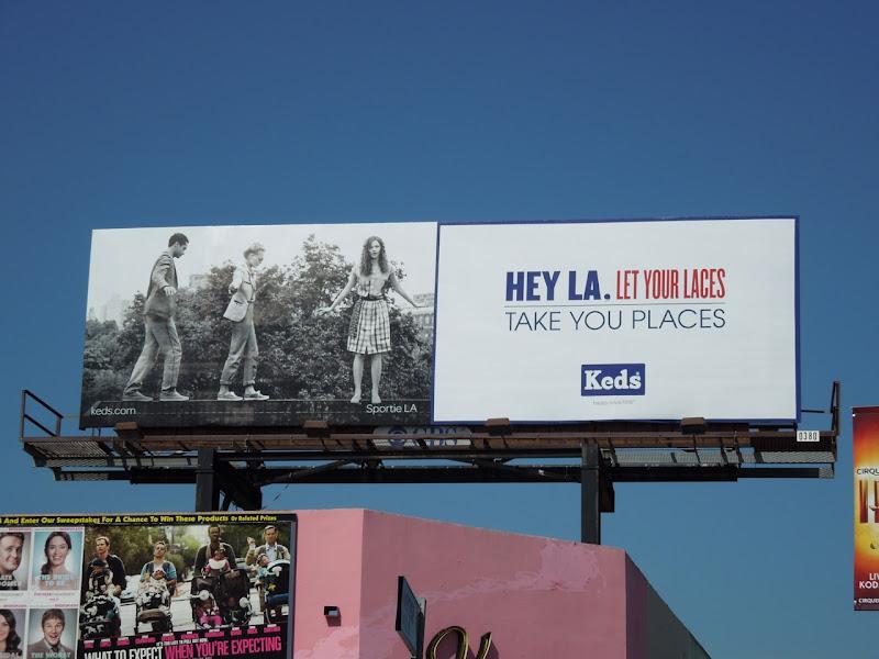 Keds billboard