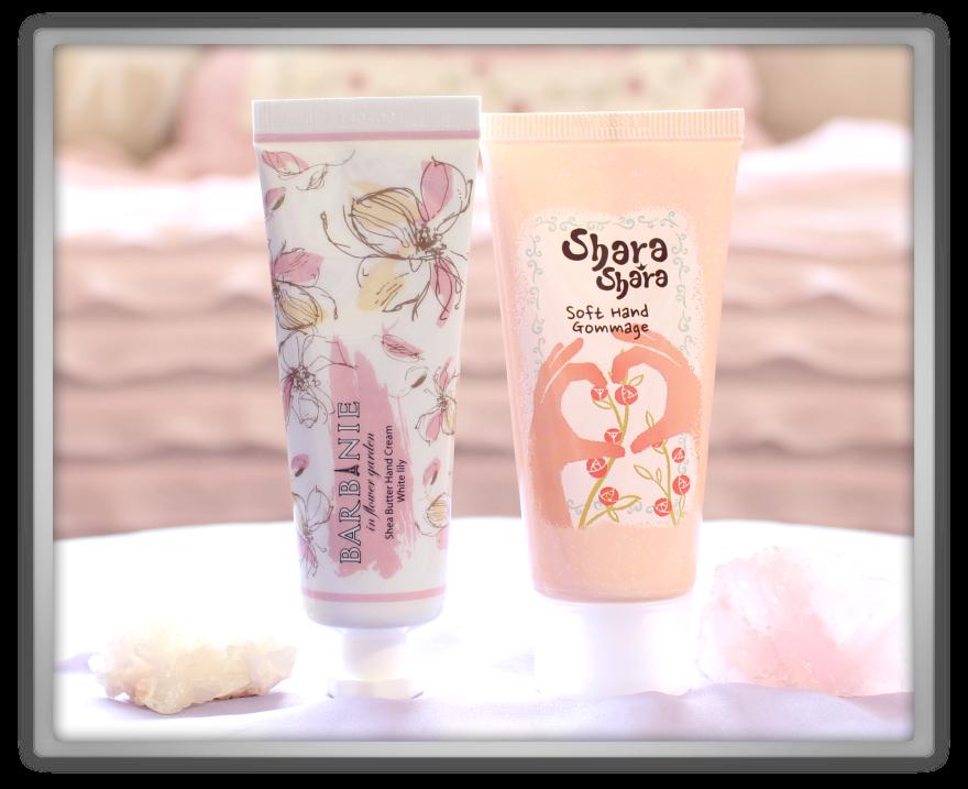 겟잇뷰티박스 by 미미박스 memebox beautybox Special #26 Hand & Nail Care unboxing review barbinie shea butter hand cream shara gommage