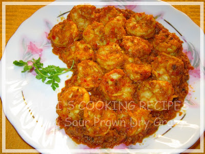 Hot and Sour Dry Prawn / Eral Gravy