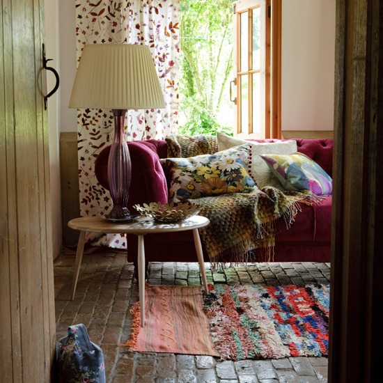 Relaxing Room Colors: Bohemian Pages: Bohemian Interiors