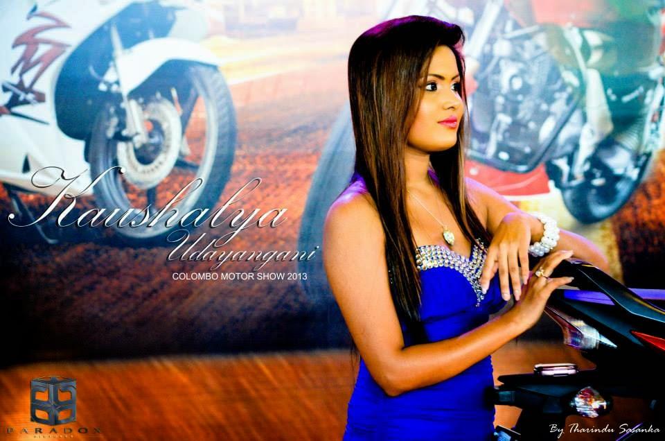 Kaushalya Udayangani 2013 Motor Show