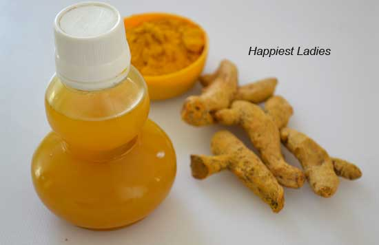 How to Prepare Homemade Turmeric Essential oil