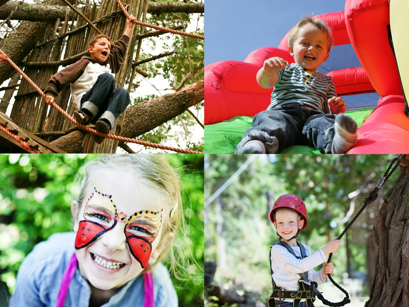Activities at Geronimo Festival at Tatton Park in May 2015