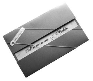 Fotos de Convites de Casamento Pratas