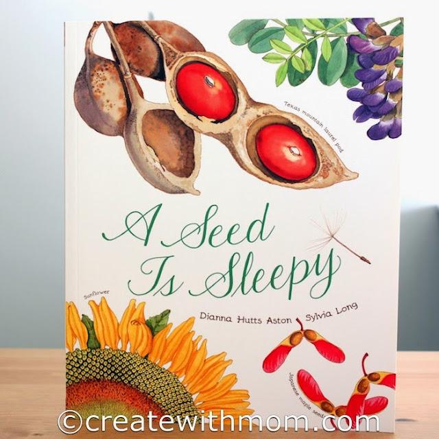 seed is sleepy children's book