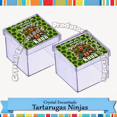 Personalizados Tartarugas Ninjas