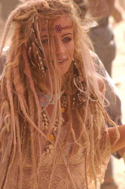Hippie Chick Dreads