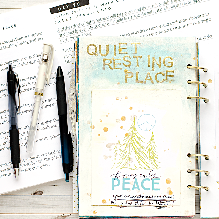 Advent Art Worship Journal Round Up | Day 20 | Naptime Diaries Advent Devotional