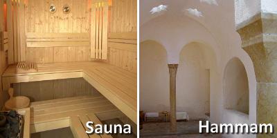 quelle est la diff 233 rence entre un sauna et un hammam