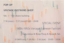 Summer Vintage Fashion-1900~50s-
