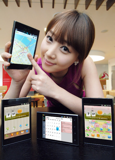 LG OPTIMUS VU New Android Smartphone Mobile Phone Photos, Features Images and Pictures 18