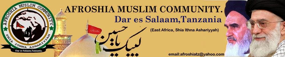 Afroshia Muslim community