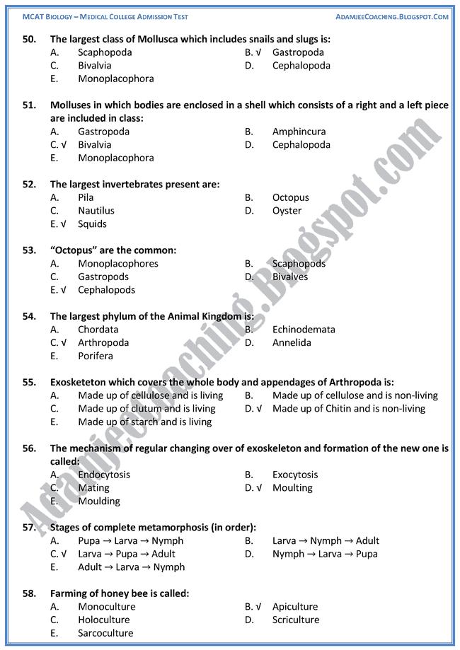 kingdom-animalia-biology-mcat-preparation-notes