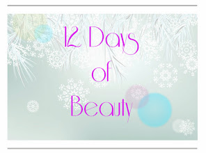 12 days of beauty Dec 9th-Dec 16th
