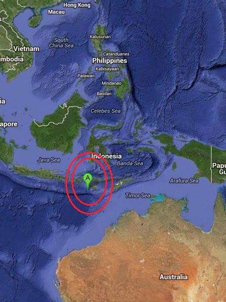 Magnitude 4.2 Earthquake of Kahale, Indonesia 2014-09-17
