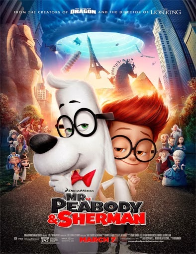 Ver Las aventuras de Peabody y Sherman (Mr. Peabody and Sherman) (2014) Online