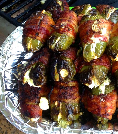 Grilled Bacon-wrapped Jalapenos