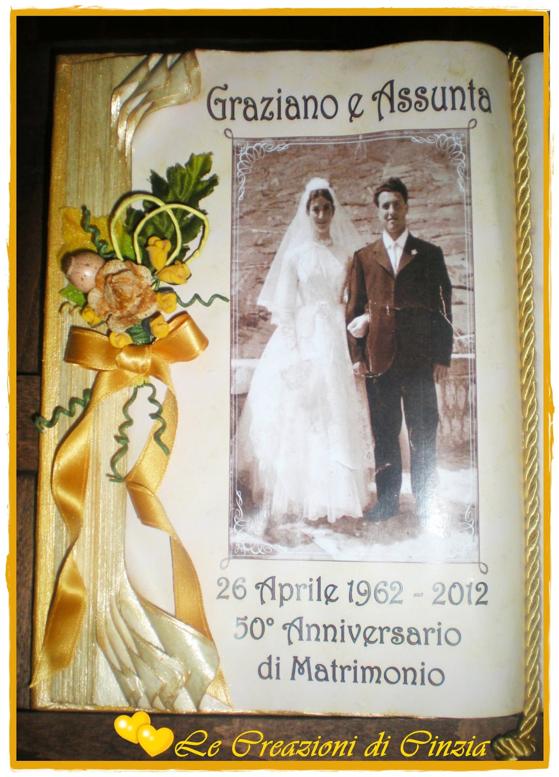 regalo anniversario 50 anno matrimonio