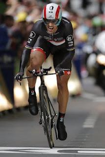 Fabian Cancellara Win Tour de France Prologue