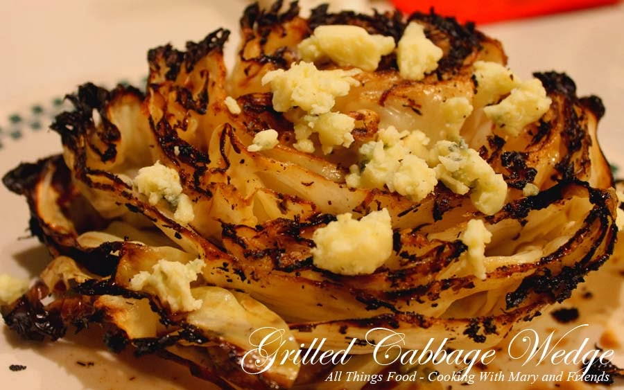 Grilled Cabbage Wedge