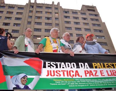 Ato histórico em São Paulo pelo Estado da Palestina Já - foto 42