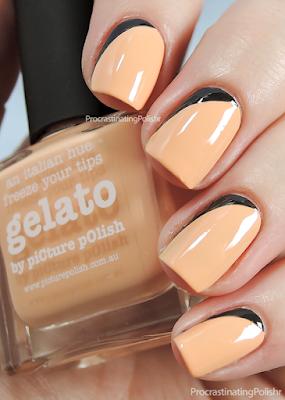 Picture Polish - Gelato | Ruffian nail art
