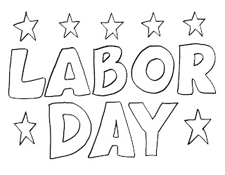 Free Labor Day Coloring Pages