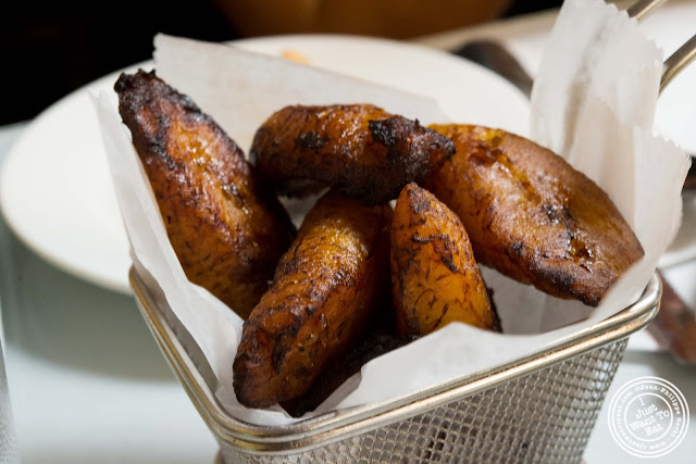 image of plantains maduros at La Isla in Hoboken, NJ
