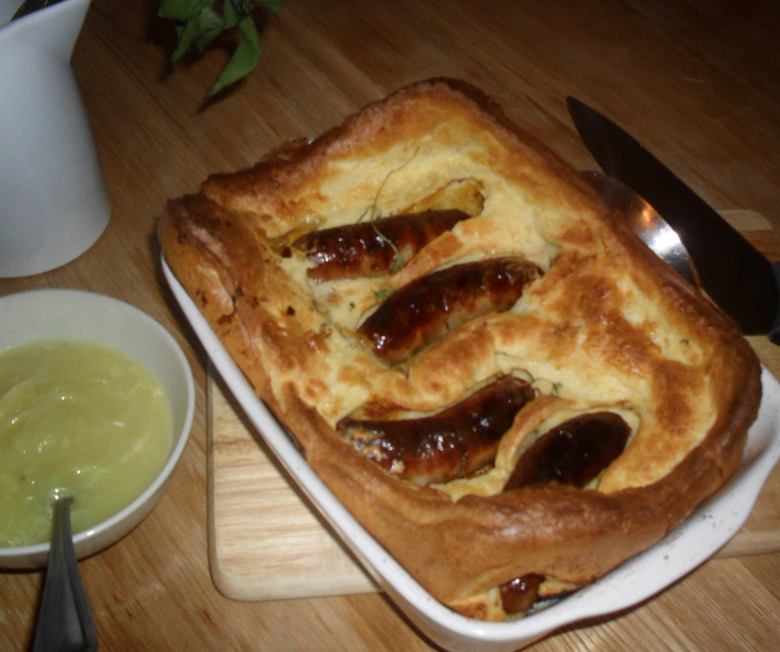 Biscuits & Blackites: Toad in the hole