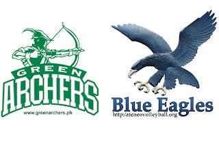 Junior Archers trip Blue Eaglets