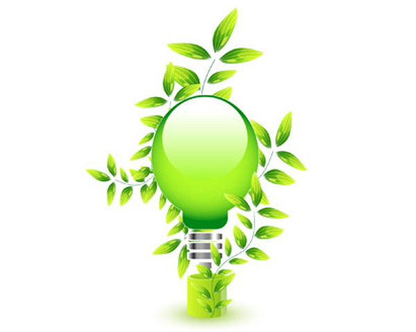 Natural Light Bulb Eco Green Ai Eps