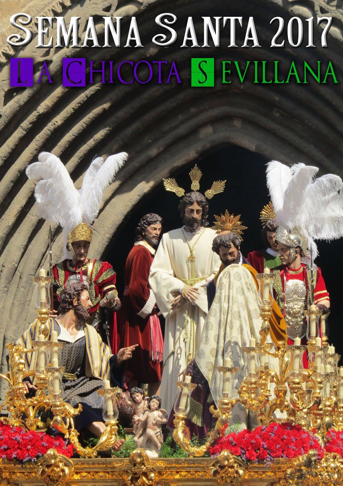 """I Cartel de la Semana Santa de Sevilla """"La Chicotá Sevillana"""""""