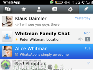 WhatsApp Messenger v2.11.901